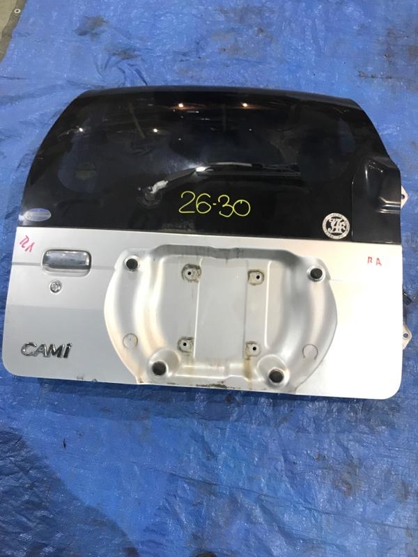 Дверь задняя багажника Toyota Cami J102E K3-VET 2000