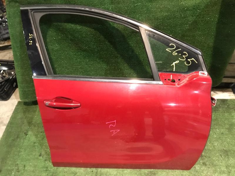 Дверь боковая Peugeot 208 10HFCK 2013 передняя правая