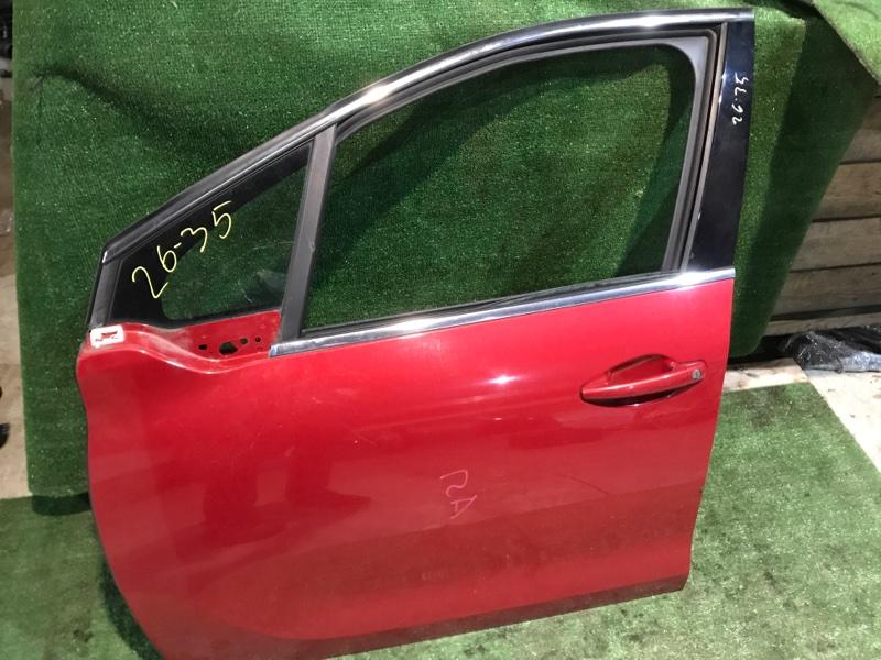 Дверь боковая Peugeot 208 10HFCK 2013 передняя левая