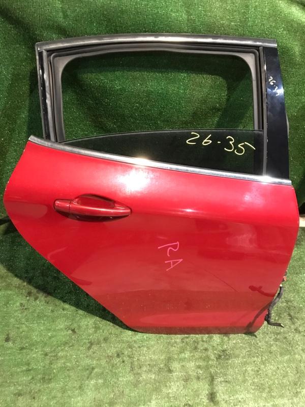 Дверь боковая Peugeot 208 10HFCK 2013 задняя правая