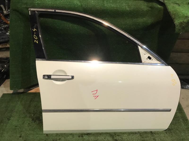 Дверь боковая Nissan Fuga PNY50 VQ35DE передняя правая