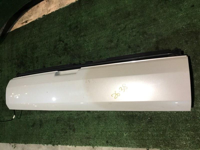 Дверь задняя багажника Peugeot 3008 10FJBW 2011 нижняя