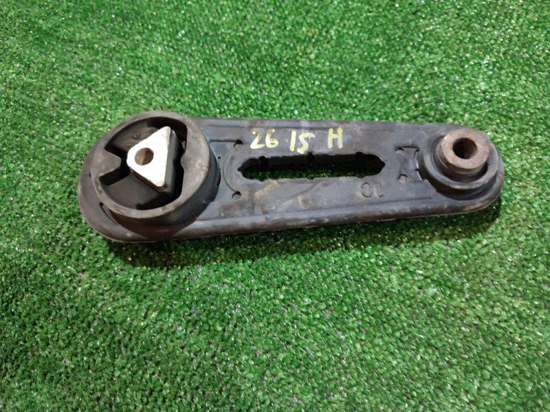 Подушка двигателя Nissan Note E11 HR15DE 2008 задняя