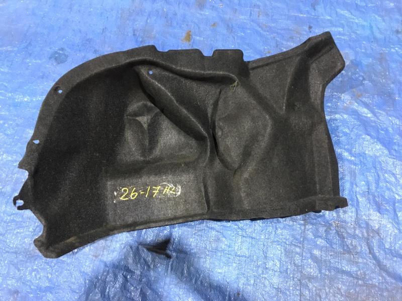 Обшивка багажника Toyota Belta SCP92 2SZ-FE 2006 задняя левая