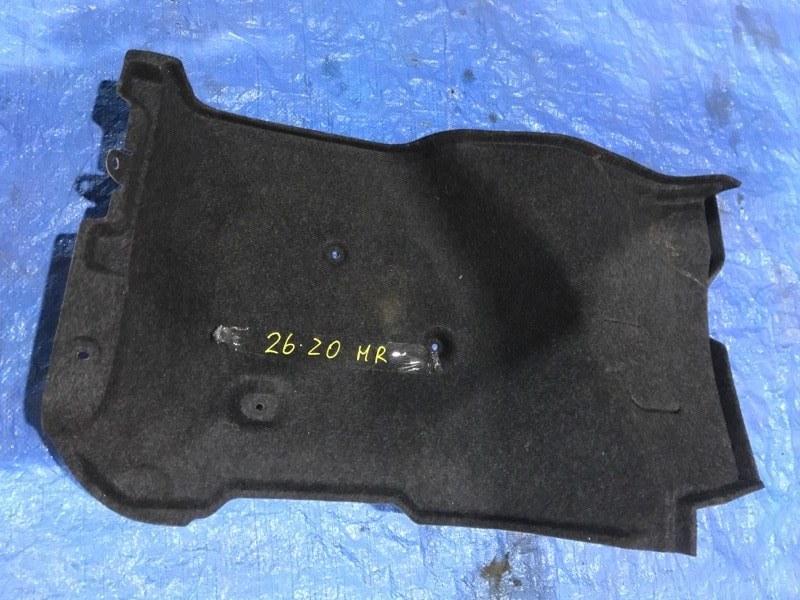 Обшивка багажника Nissan Bluebird Sylphy KG11 MR20DE 2005 задняя правая