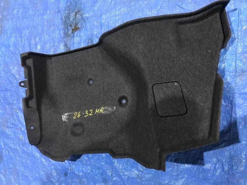 Обшивка багажника Nissan Bluebird Sylphy KG11 MR20DE 2007 задняя правая