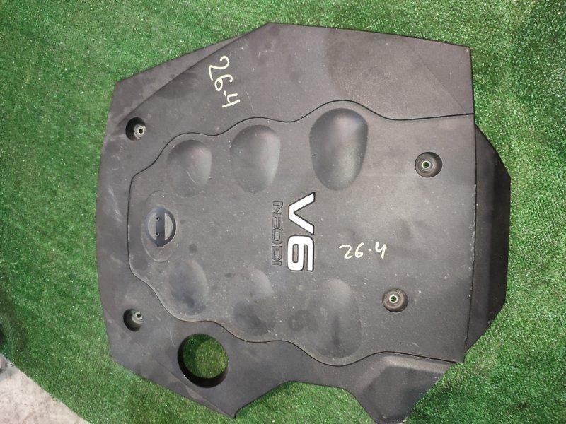 Крышка на двигатель декоративная Nissan Stagea NM35 VQ25DD 2004