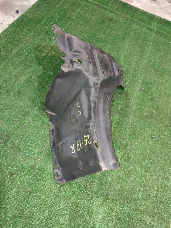 Защита двс Toyota Belta SCP92 2SZ-FE 2006 правая