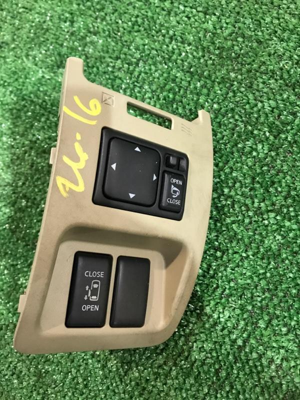 Кнопки в салон Nissan Lafesta B30 MR20DE 2005