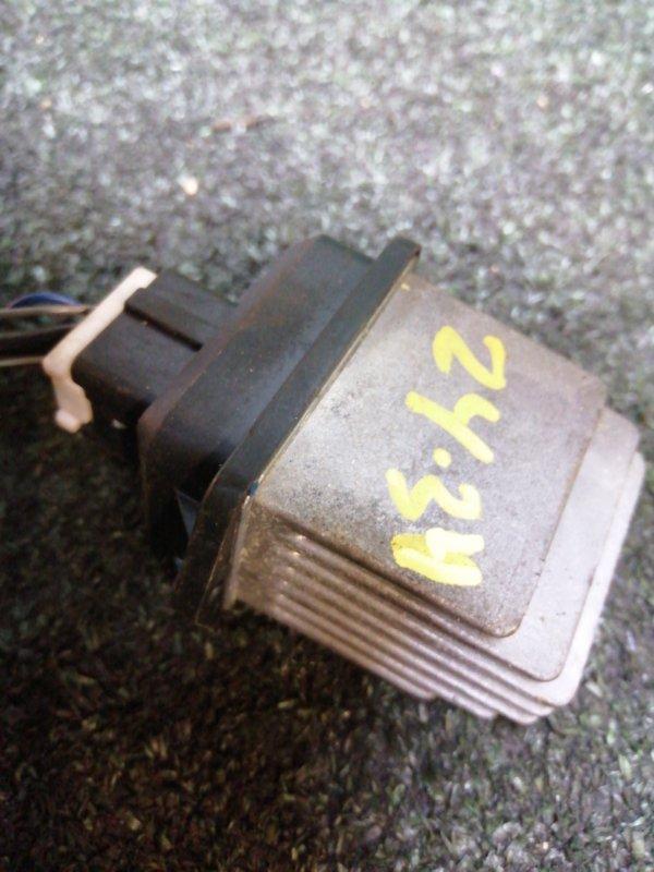 Реостат печки Suzuki Solio MA15S K12B