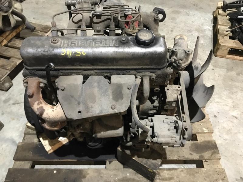 Двигатель Mitsubishi Canter FE305B 4D30 1991