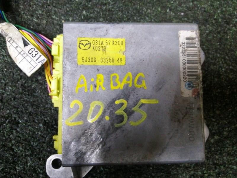 Блок управления airbag Mazda Atenza GY3W L3