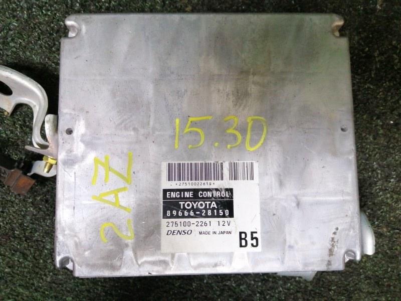 Блок управления двс Toyota Estima ACR40W 2AZ-FE