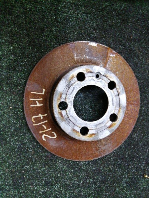 Диск тормозной Volkswagen Bora APK 2000 задний левый
