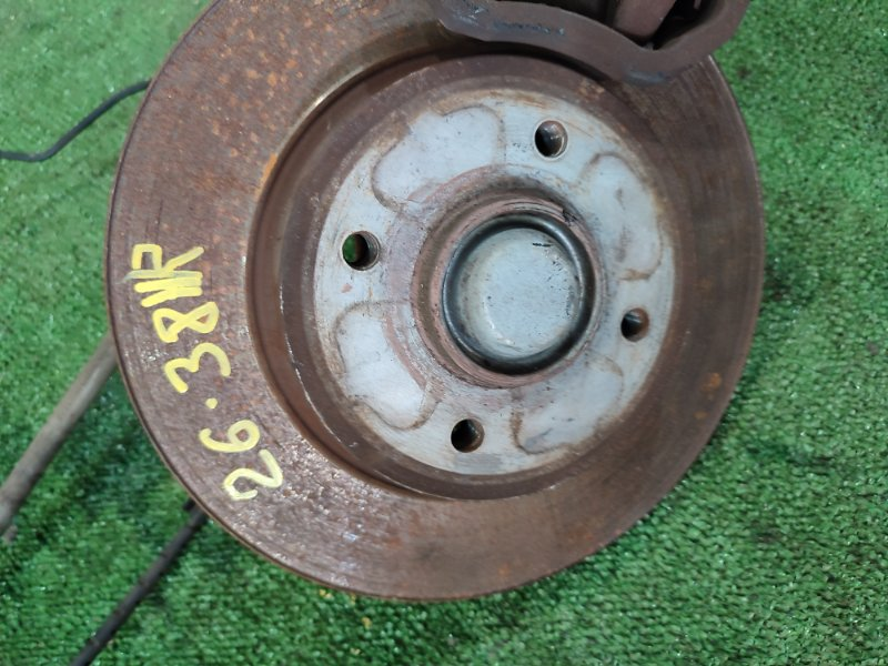 Диск тормозной Peugeot 3008 10FJBW 2011 задний правый
