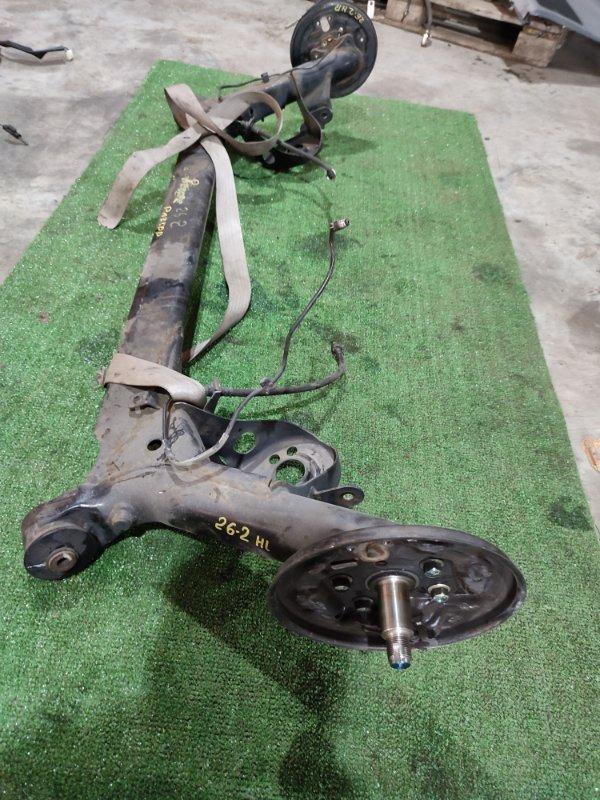 Балка поперечная Honda Fit GD1 L13A задняя