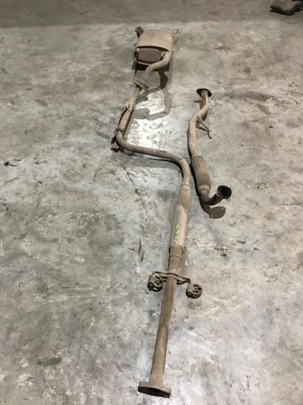 Глушитель Toyota Carina AT171 4A-FE