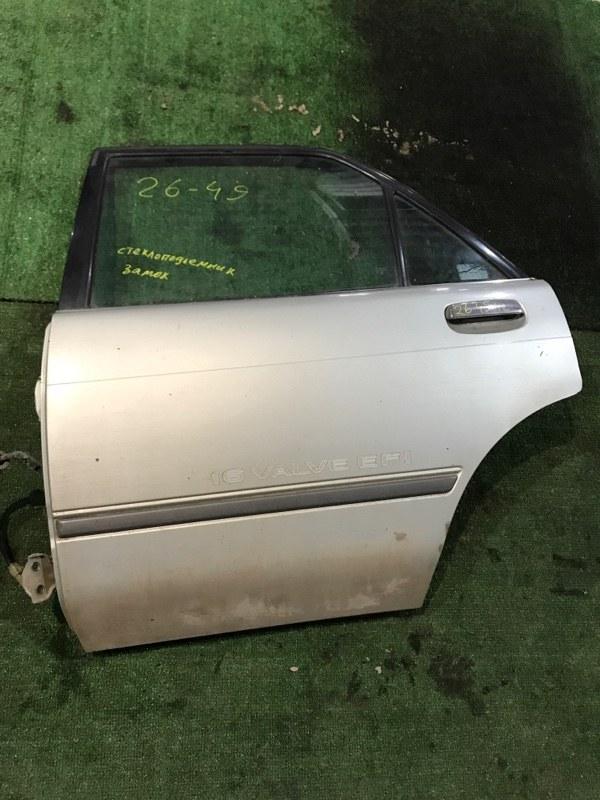 Дверь боковая Toyota Carina AT171 4A-FE задняя левая