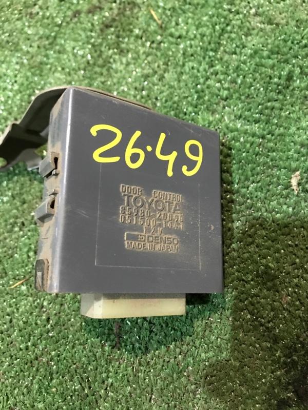 Блок управления дверьми Toyota Carina AT171 4A-FE