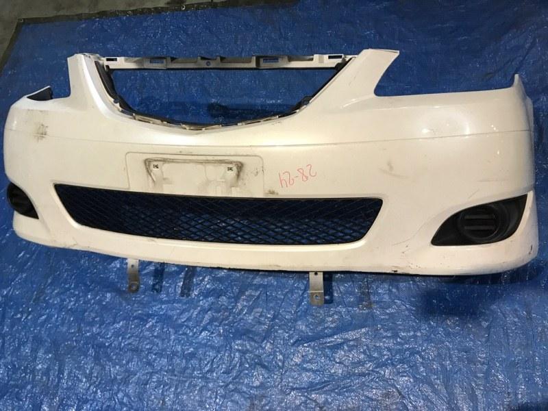 Бампер Mazda Mpv LW3W L3 передний