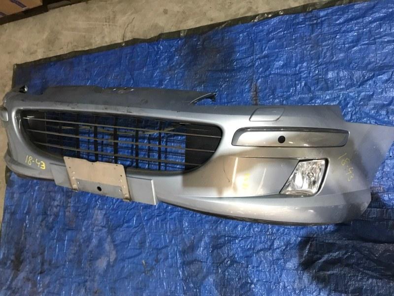 Бампер Peugeot 407 XFV (ES9A) 2002 передний