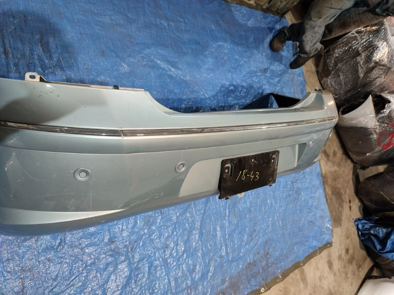 Бампер Peugeot 407 XFV (ES9A) 2002 задний