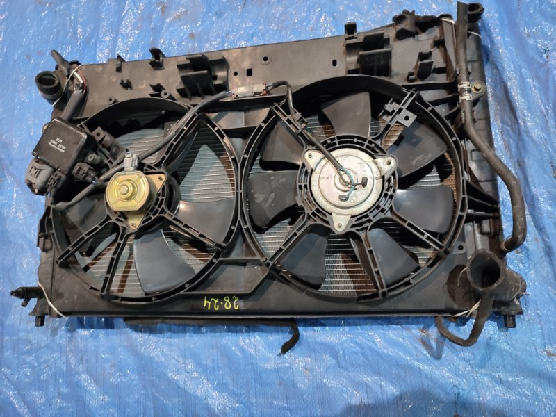 Радиатор двигателя Mazda Mpv LW3W L3