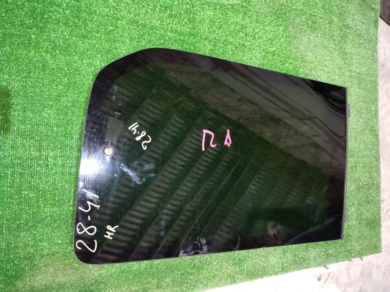 Стекло боковое Honda Stepwgn RF3 K20A заднее правое