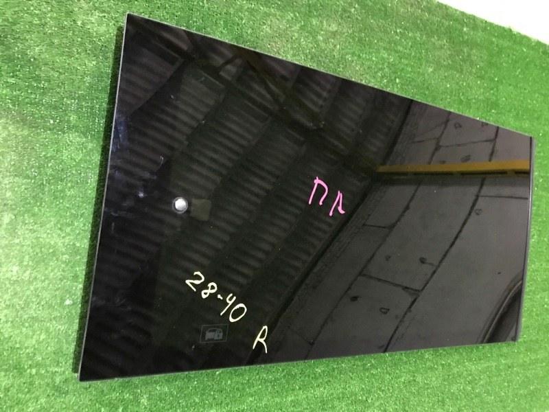 Стекло боковое Honda Stepwgn RF3 K20A правое