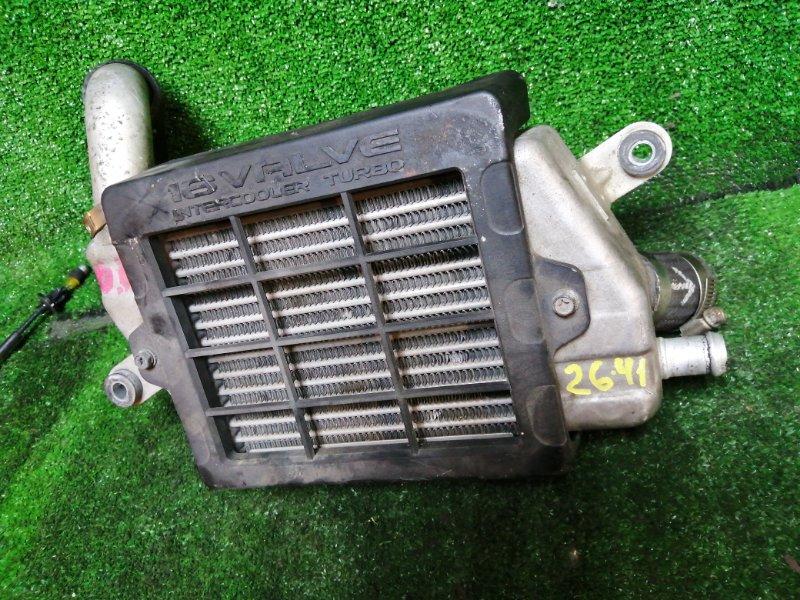 Радиатор интеркулера Mitsubishi Pajero Mini H58A 4A30 2009