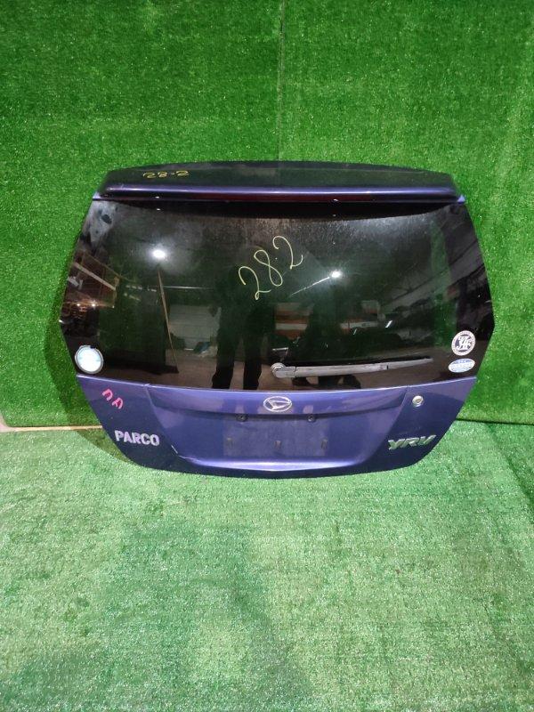 Дверь задняя багажника Daihatsu Yrv M201G K3-VE