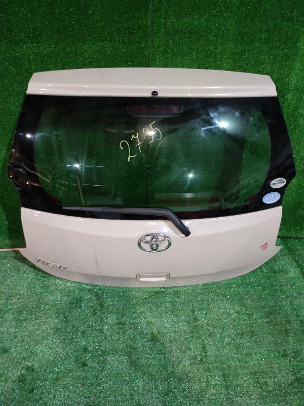 Дверь задняя багажника Toyota Passo KGC30 1KR-FE