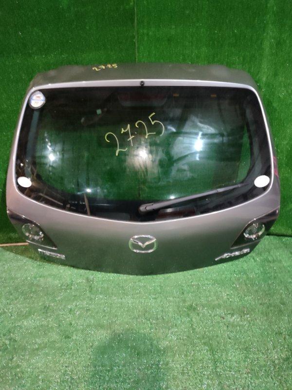 Дверь задняя багажника Mazda Axela BK5P ZY-VE