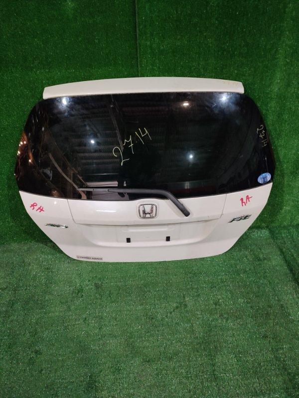 Дверь задняя багажника Honda Fit GD2 L13A