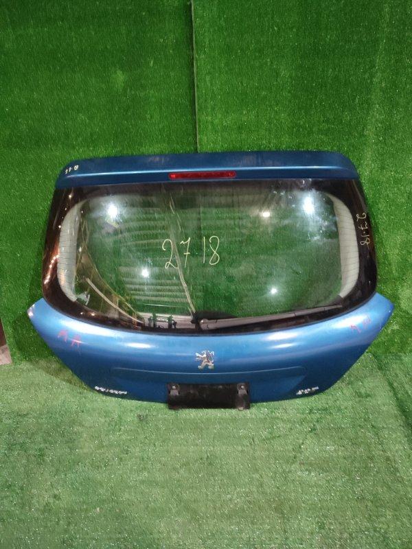 Дверь задняя багажника Peugeot 207 PSA5FW 2003