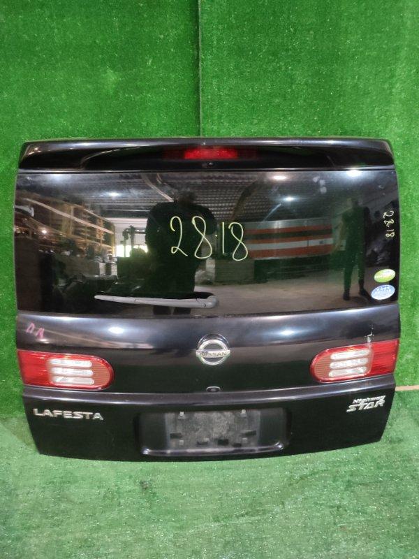 Дверь задняя багажника Nissan Lafesta B30 MR20DE