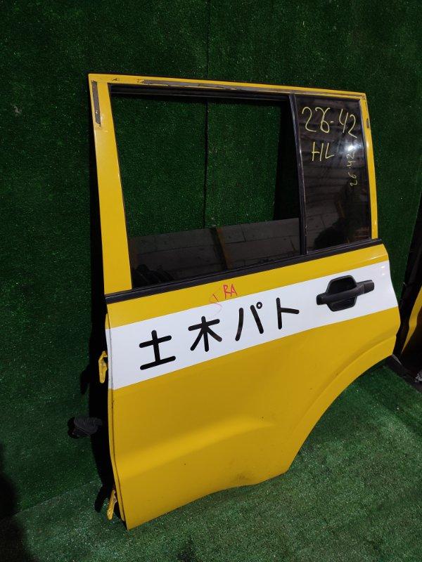 Дверь боковая Mitsubishi Pajero V93W 6G72 задняя левая