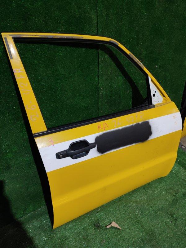 Дверь боковая Mitsubishi Pajero V93W 6G72 передняя правая
