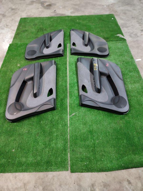 Обшивка двери Honda Fit GD2 L13A