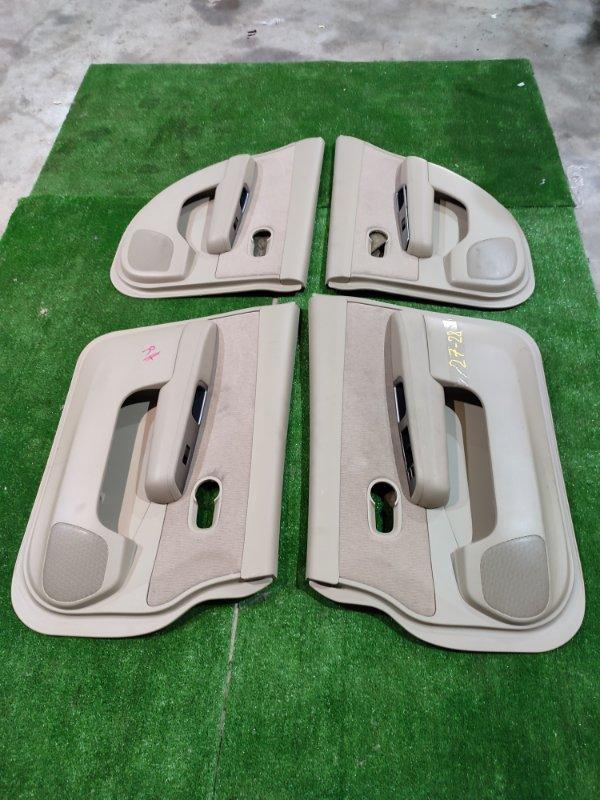 Обшивка двери Nissan Tiida SC11 HR15DE