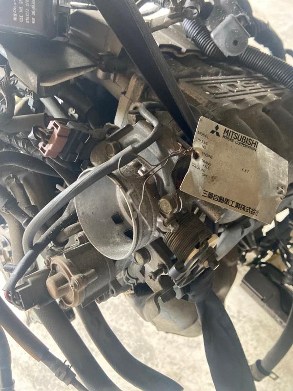 Заслонка дроссельная Mitsubishi Diamante F31A 6G73