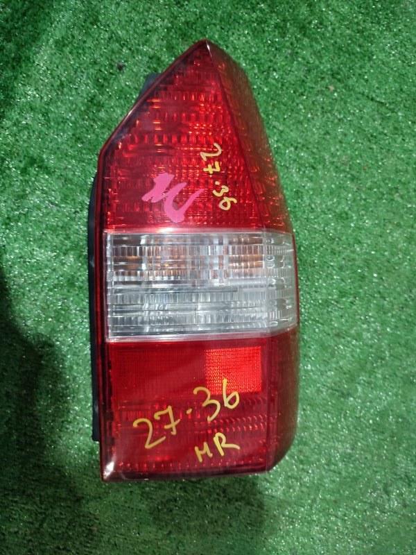 Фонарь стоп-сигнала Mitsubishi Chariot Grandis N94W 4G64 правый