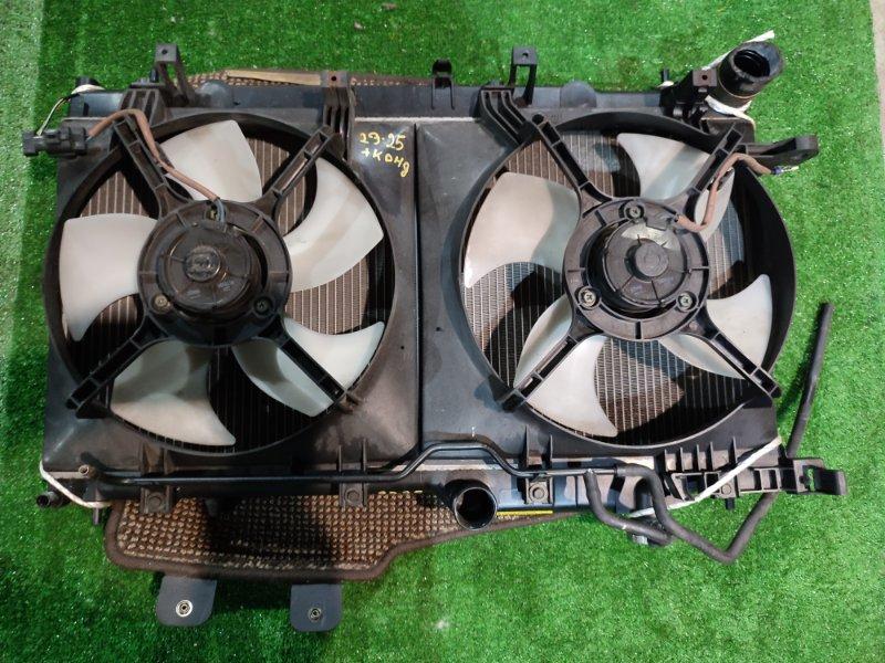 Радиатор двигателя Subaru Legacy BP5 EJ20X 2004