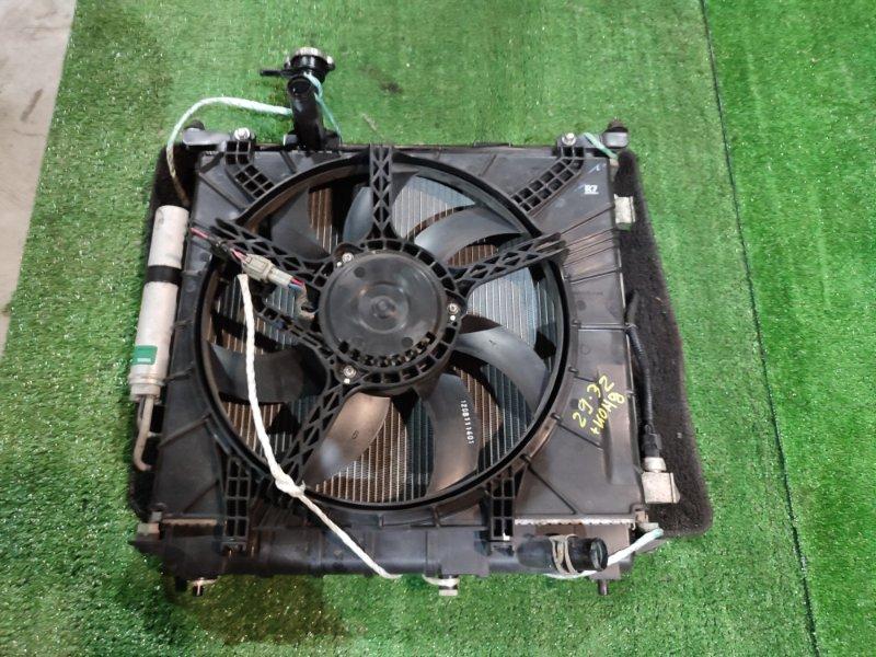 Радиатор двигателя Nissan March K13 HR12DE