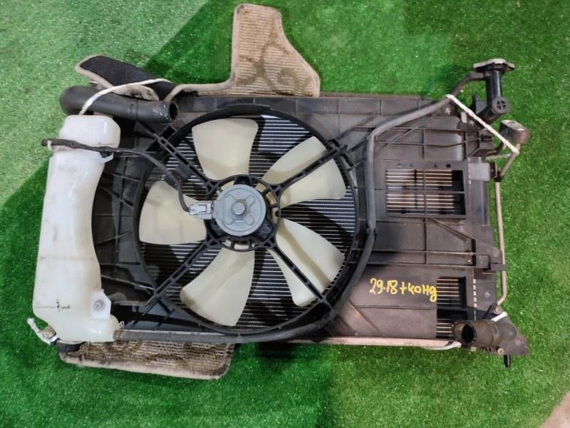 Радиатор двигателя Mitsubishi Colt Plus Z23W 4A91 2008