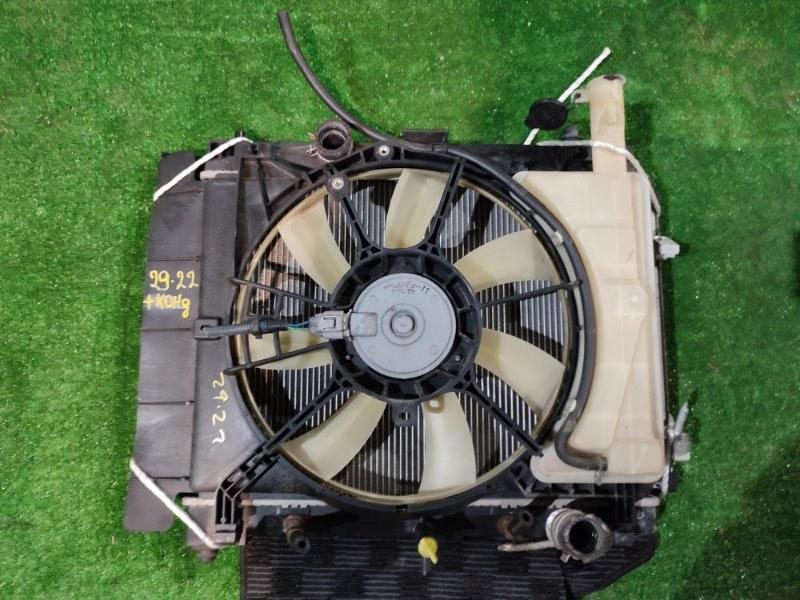 Радиатор двигателя Toyota Vitz NCP95 2NZ-FE 2007
