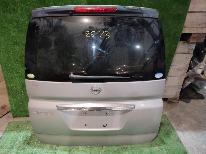 Дверь задняя багажника Nissan Serena C25 MR20DE 2008