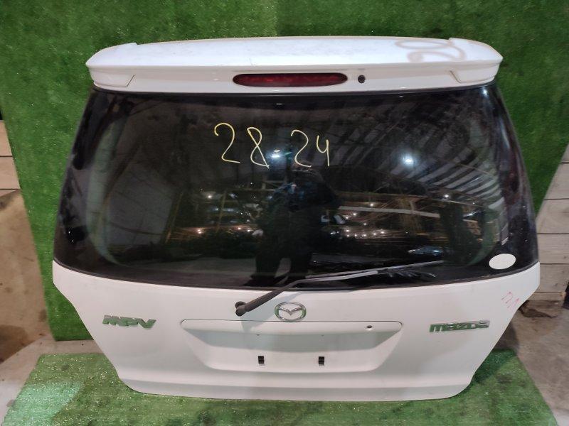 Дверь задняя багажника Mazda Mpv LW3W L3