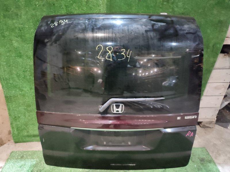 Дверь задняя багажника Honda Stepwgn RF3 K20A