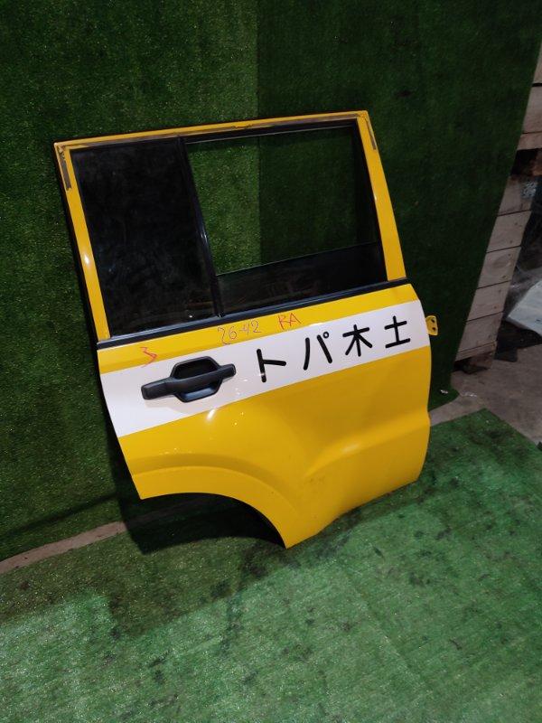 Дверь боковая Mitsubishi Pajero V93W 6G72 задняя правая